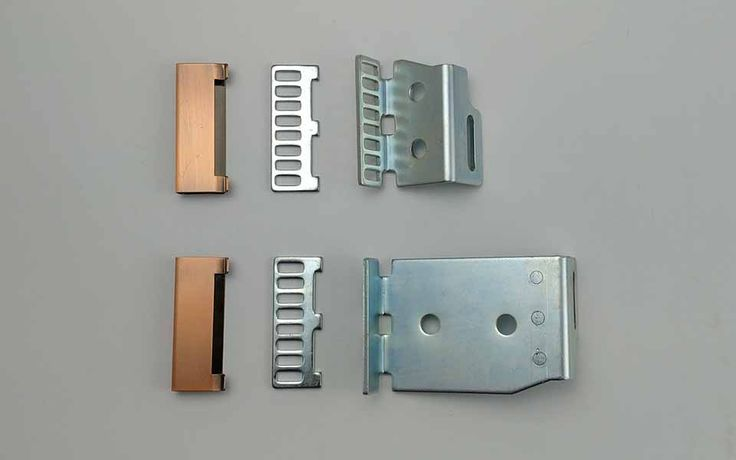 ES200 automatic sliding door belt connection. Connecting toothed driving belt and ES200 carriages/hangers. (Universal service parts applicable to Dorma ES200 and ES200 easy series automatic doors)