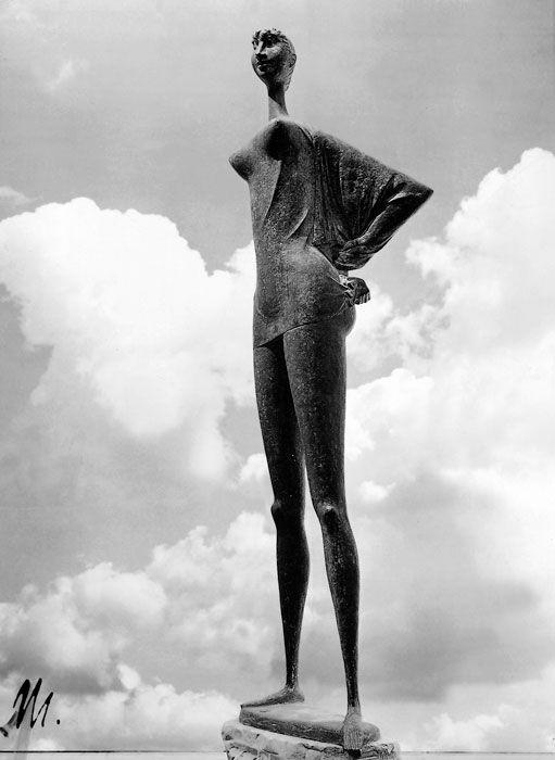 Marcello Mascherini, Triestina (1961); Stadtische Sparkasse, Duisburg, Germany. Photograph by Pozzar, Trieste