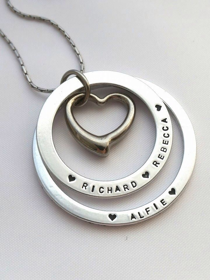 A personal favourite from my Etsy shop https://www.etsy.com/uk/listing/233584454/name-necklace-personalised-gift-for-mum