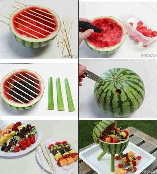 Want to try!! | Watermelon barbecue design