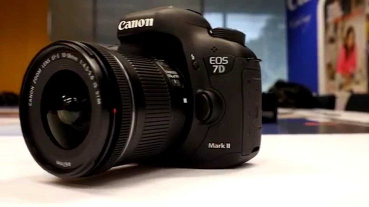 Pete from London Camera Exchange takes you through a first look at the new Canon EOS 7D MkII with Dave from Canon.