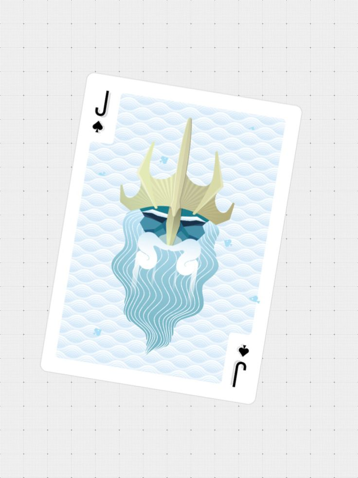 Daily illustrations by Naomi Seah playing cards series