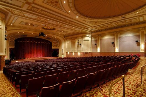 The History of the Kentucky Theater | The Kentucky Theatre--the inside of the gorgeous theatre.