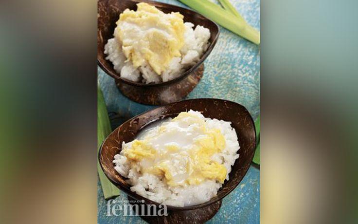 Resep Khao Niaow Durian