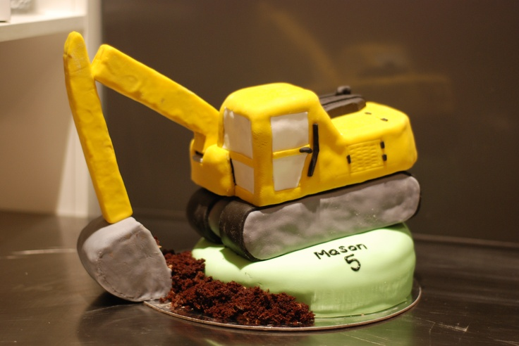 Digger cake - 2011
