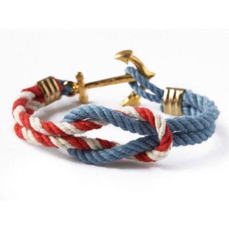 Show a little sense of pride with the Kennedy Compound Triton Knot Bracelet by Kiel James Patrick