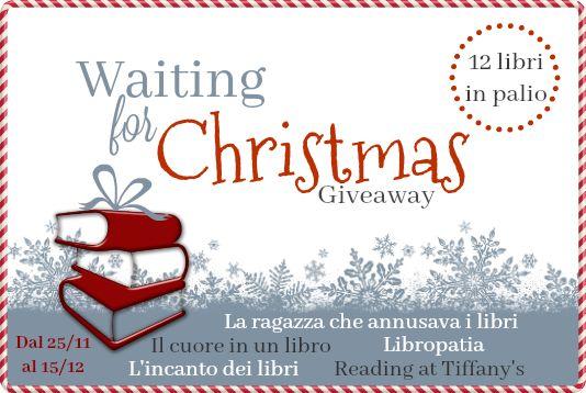 La ragazza che annusava i libri: Waiting for Christmas Giveaway - 12 Libri in palio...