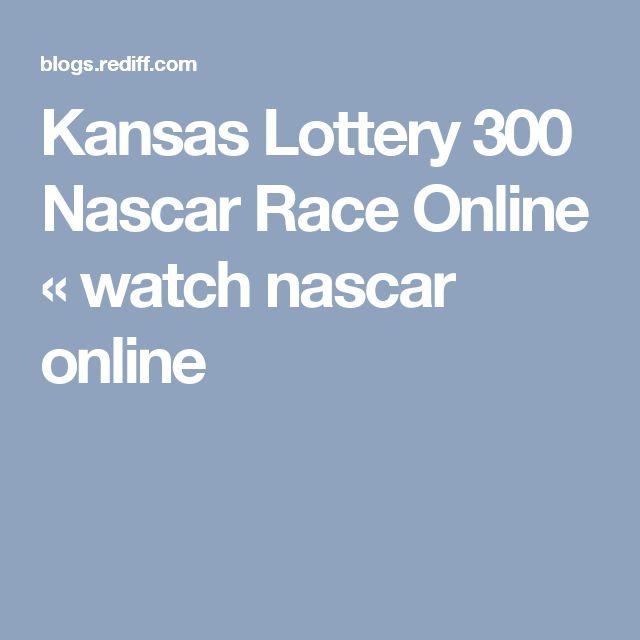 Kansas Lottery 300 Nascar Race Online « watch nascar online