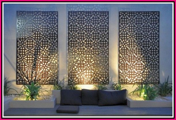 Tips To Help You An Improved Gardener Simple Garden Ideas Exterior Wall Art Garden Wall Designs Modern Garden Lighting