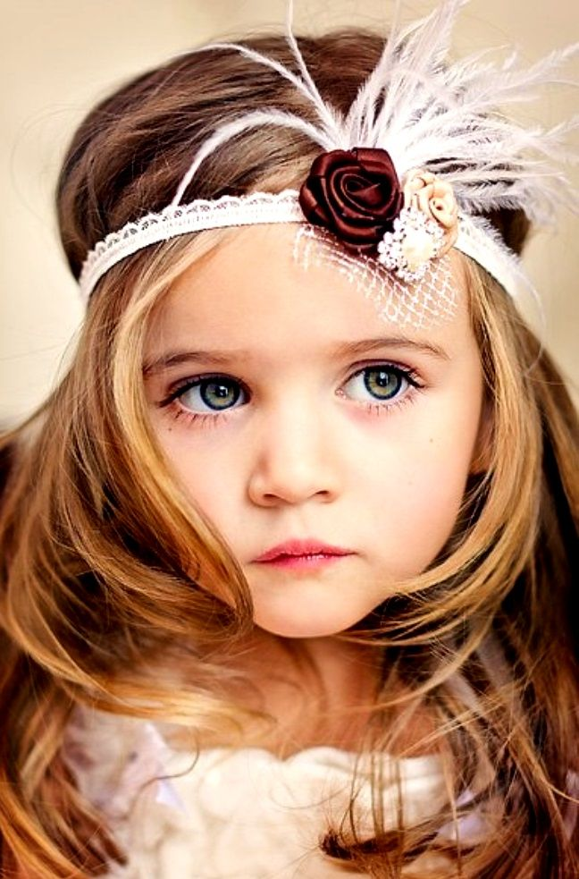 #Beautiful #childphotography precious little girl ToniK ~•❤• Bébé •❤•~ Flapper #Gatsby headband fkids.ru