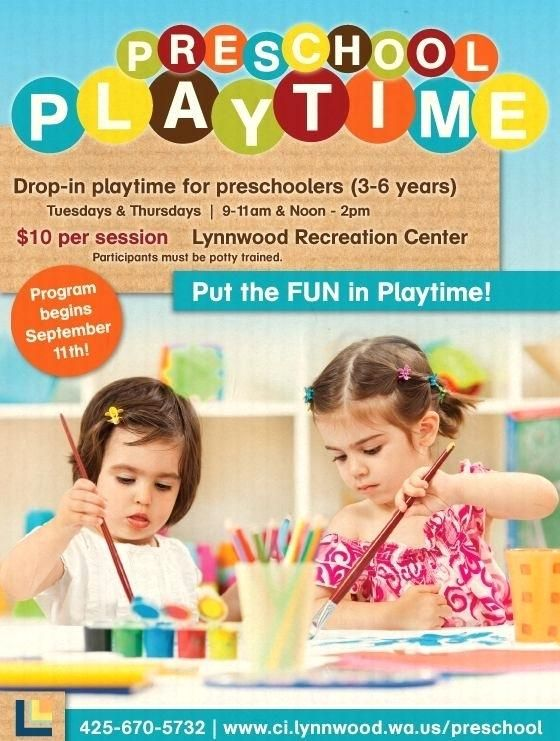 Play School Brochure Template Nursery Brochures Images Kid