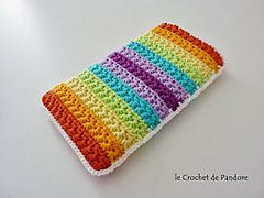 Ravelry: Housse de portable étoile pattern by le Crochet de Pandore