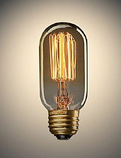 40W E27 Ellipsoid Tungsten Light Bulb(220V-240V) – USD $ 5.09