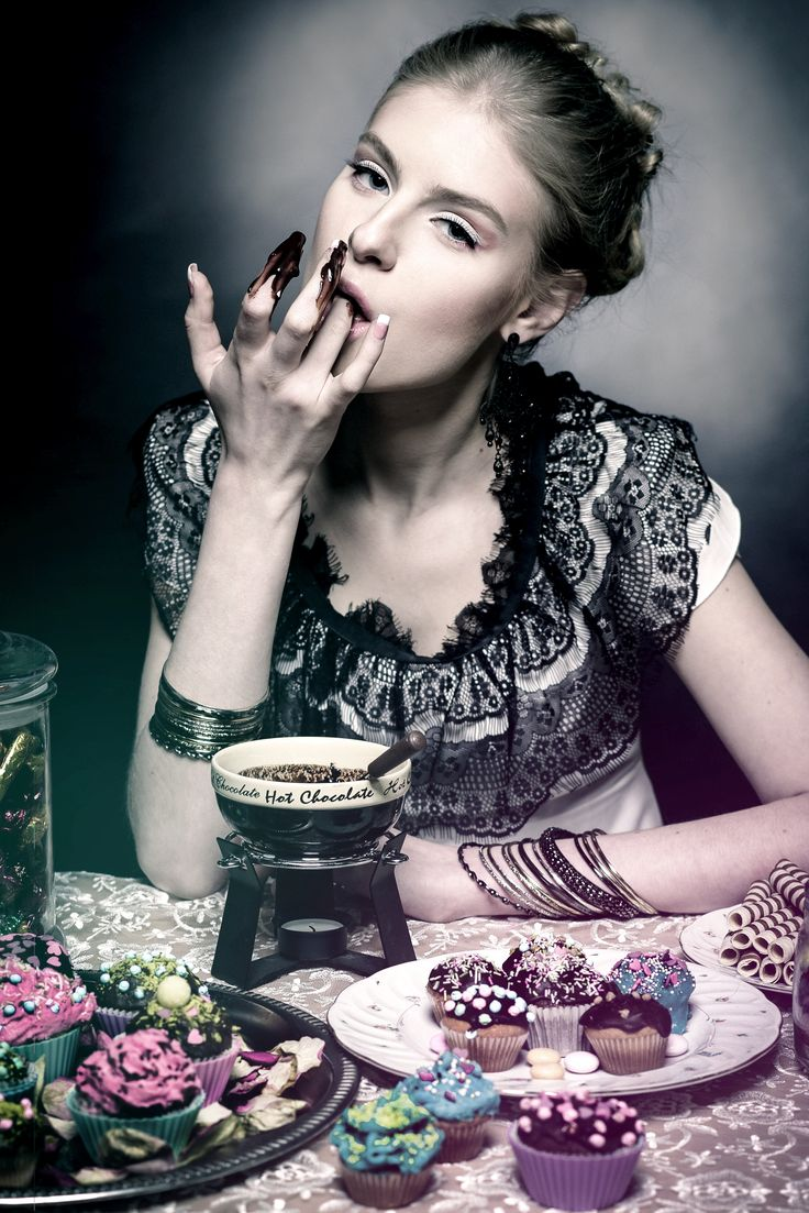 "SEVEN DEADLY SINS ""GLUTTONY"" Photo: Aiste Ginaityte Model: Laura Petkevičiūtė Style: Justina Semčenkaitė Make up: Solveiga Blium  / meduza photography / dark / fashion / beauty /"