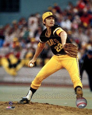 Pittsburgh Pirates - Bert Blyleven Photo