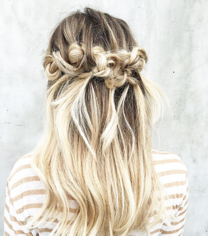 11 Half Up Half Down Hairstyles That Are Perfect For Lazy Days Down Hairstyles Half Up Hair Do Hair Styles