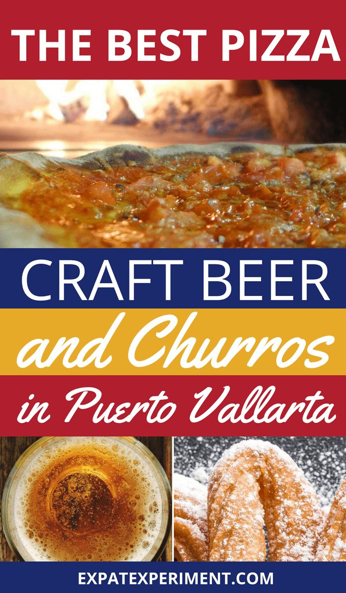 Puerto Vallarta is loaded with great easy to find places to eat tacos, and traditional Mexican fare. But what id you want to enjoy something more international? Here are the best places enjoy pizza, craft beer and churros in Puerto Vallarta.
