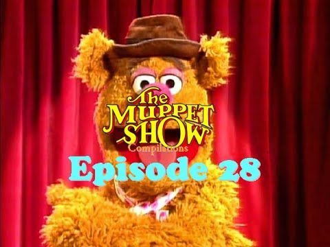 The Muppet Show Compilations - Episode 28: Fozzie's Comedy Acts with Sta...