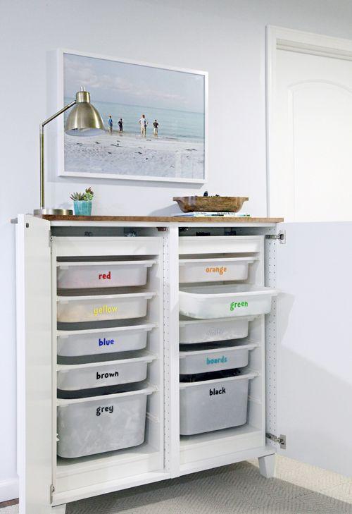 ber ideen zu lego aufbewahrung auf pinterest lego tisch carrerabahn und. Black Bedroom Furniture Sets. Home Design Ideas