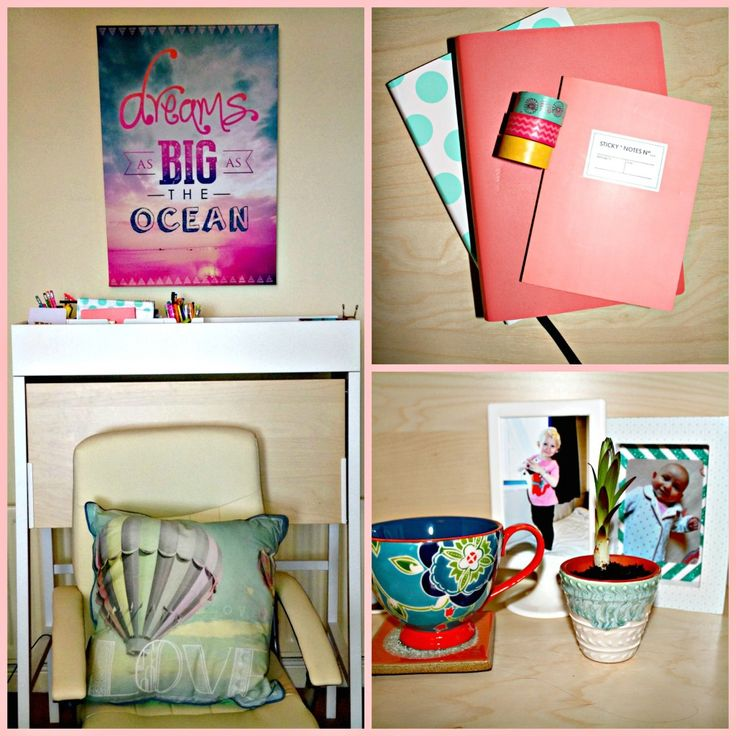 Blooming gorgeous home office feat. Graham and Brown's Dreamscapes range
