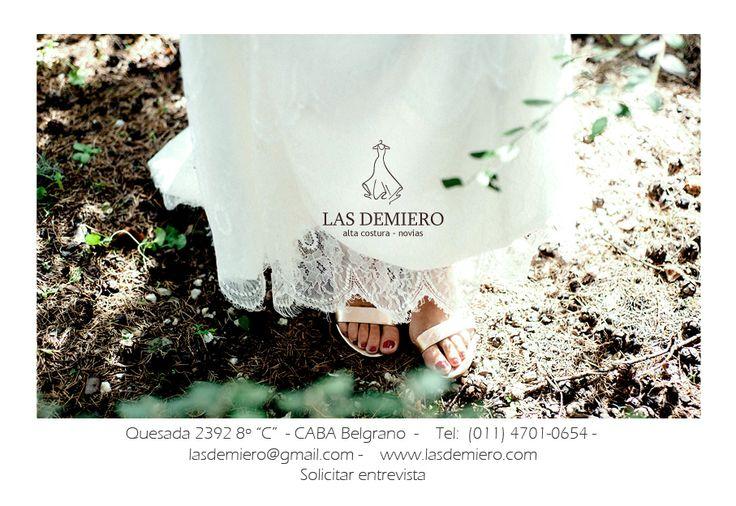 Las Demiero: www.lasdemiero.com  https://www.facebook.com/demiero  #lasdemiero #novias #bodas #vestidodenovia