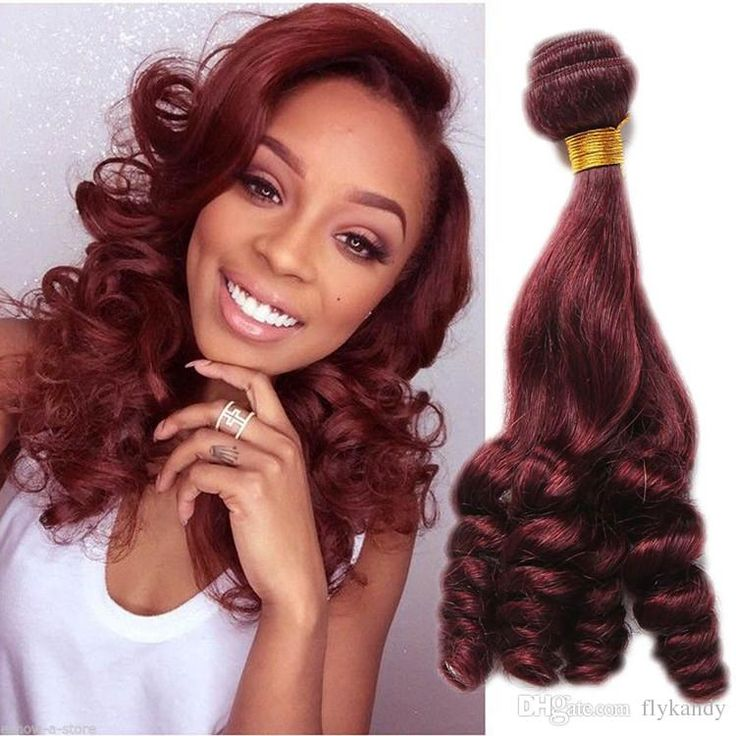 96 best weave images on pinterest beautiful hair and photography human hair weave extensions double weft red wine romance spiral curly brazilian funmi hair bundles pmusecretfo Image collections