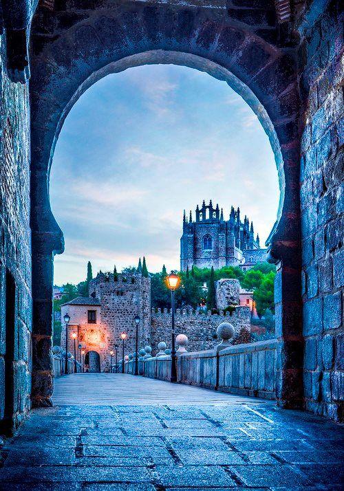 Medieval Portal, Toledo, Spain