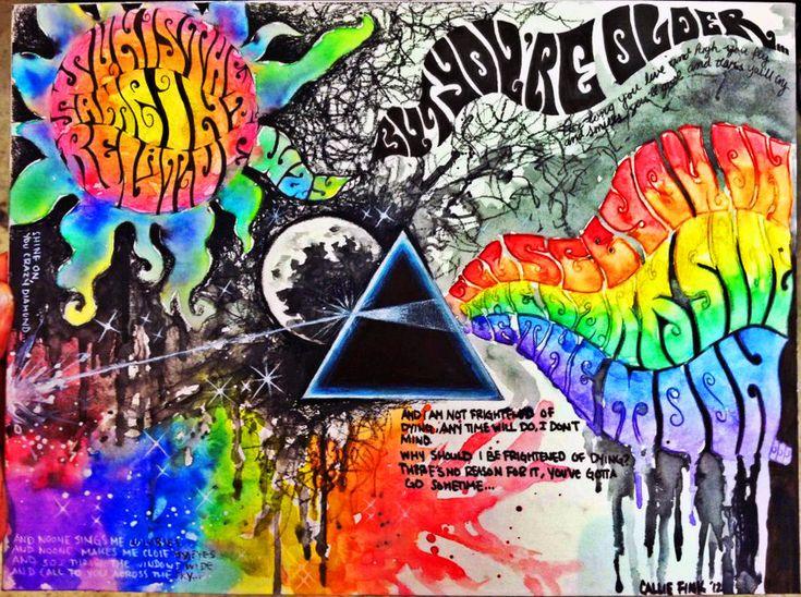 Resultado de imagen de Pink Floyd: The Dark Side Live | BBC Archives - 1974 / VHS-Rip