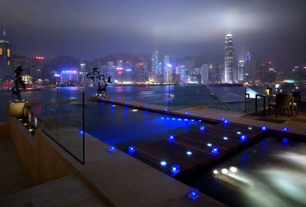 InterContinental Hong Kong infinity pool @interconhk