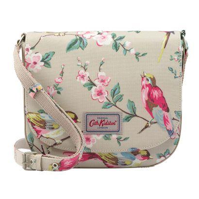 British Birds Curved Saddle Bag