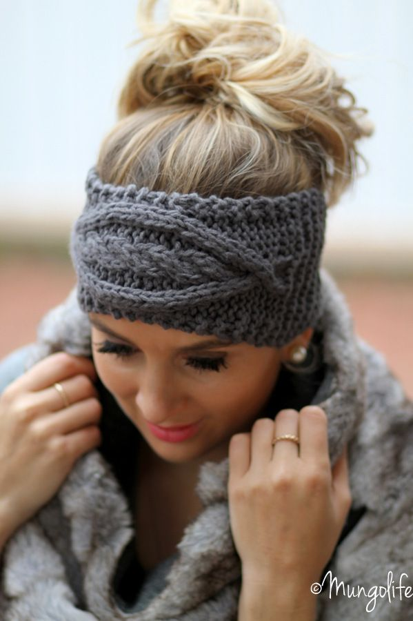 Zara sweater / H&M snood / Etsy hairband  Http://www.mungolife.fi