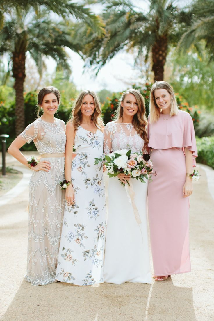 25 best bridesmaids images on pinterest marriage wedding al fresco scottsdale wedding stunning two piece dress ombrellifo Gallery