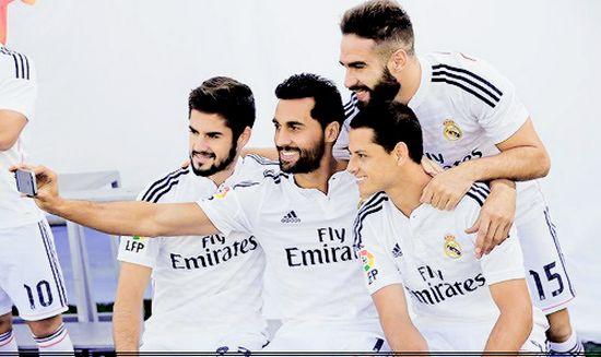 Equipacion CHICHARITO Real Madrid primera 2014-2015