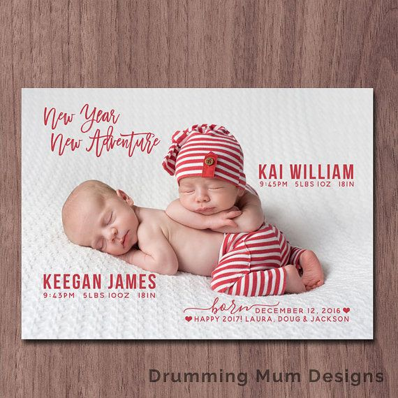 53 best Baby Birth Announcement images – Holiday Birth Announcements