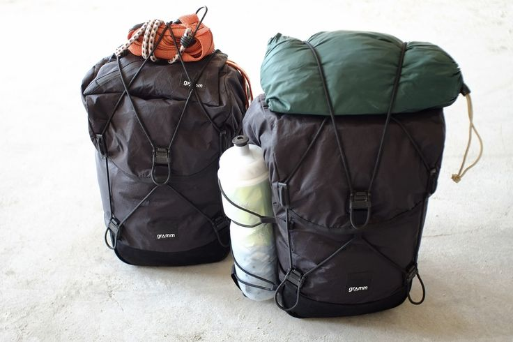 Gepäckträgertasche / Deckel — gramm