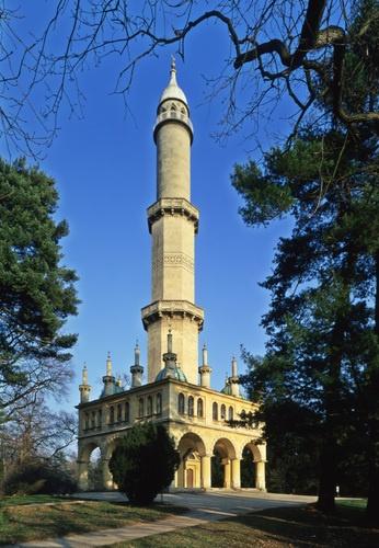 Minaret w Lednice Czech Republic