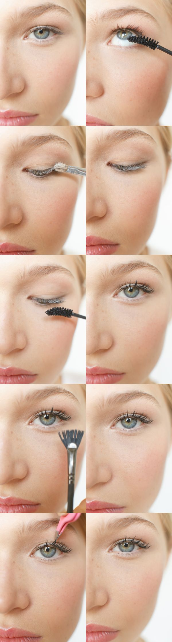 How to Fake Thicker Lashes Tutorial - Find the best a?�How Toa?? DIY Wedding Projects at OnceWed.com #diyeyemakeup #diymakeup #diyweddingmakeup | See more about Lashes, Eyelashes and Tutorials.