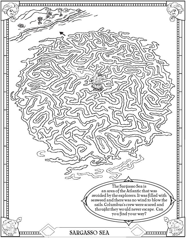 Welcome To Dover Publications Explorers Activities Art Worksheets Dover Coloring Pages
