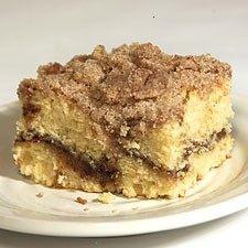 Cinnamon Streusel Coffee Cake | Desserts | Pinterest