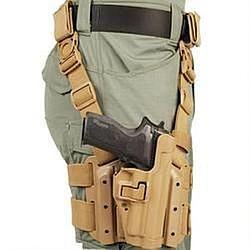 BLACKHAWK! Level 2 Tactical SERPA Holster Drop Leg Platfo...