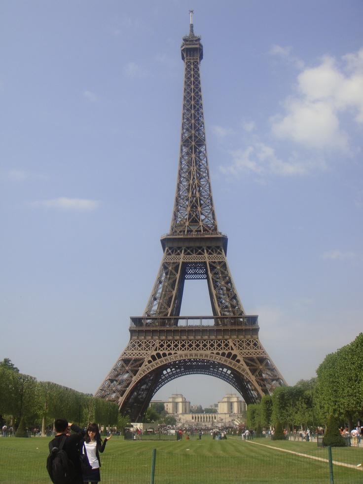 Eiffel Tower, Paris, France. Original.