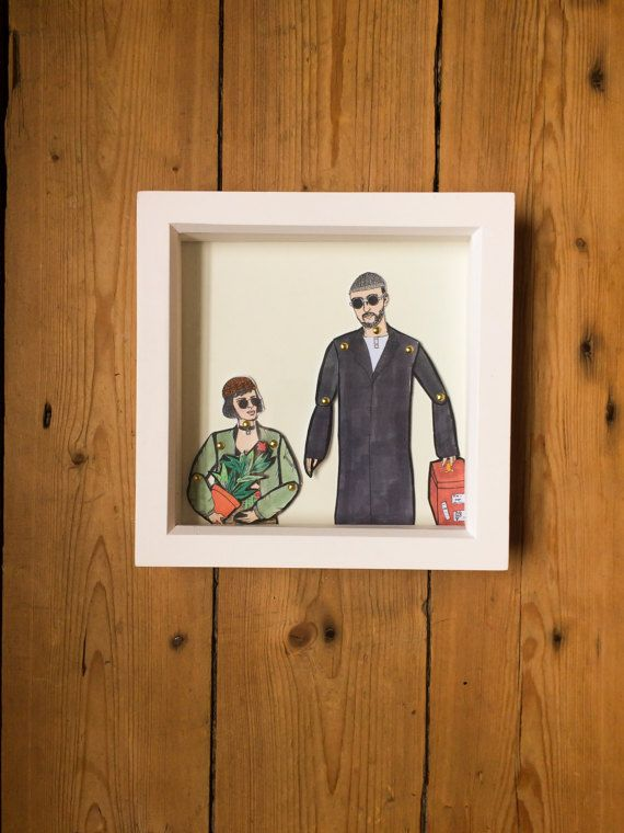 Matilda and Leon dolls! These beautiful little dolls are hand illustrated by myself, hand cut and pinned using mini gold brad pins then framed.  The frames come in a lovely little package that can be personalized all you have to do is message me with who the gift is TO: and FROM: and I can pop that on ready for gifting.  All dolls are roughly 25cm tall and are professionally printed on sturdy 300gsm matt card before being hand cut and pinned. All framed doll sets come in a little…
