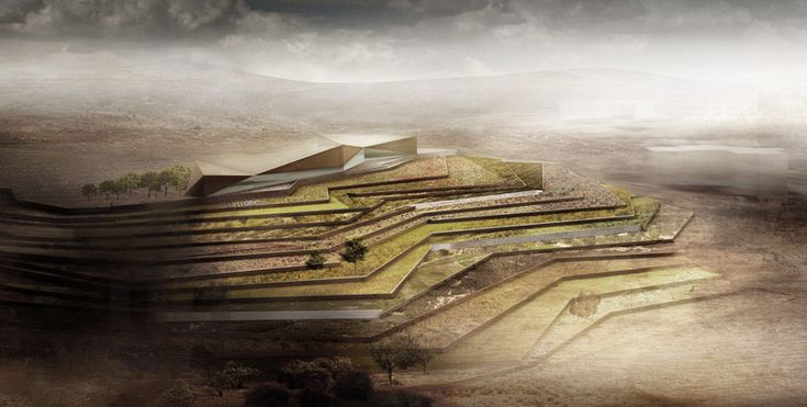 palestinian museum by heneghan peng acts as a communicator