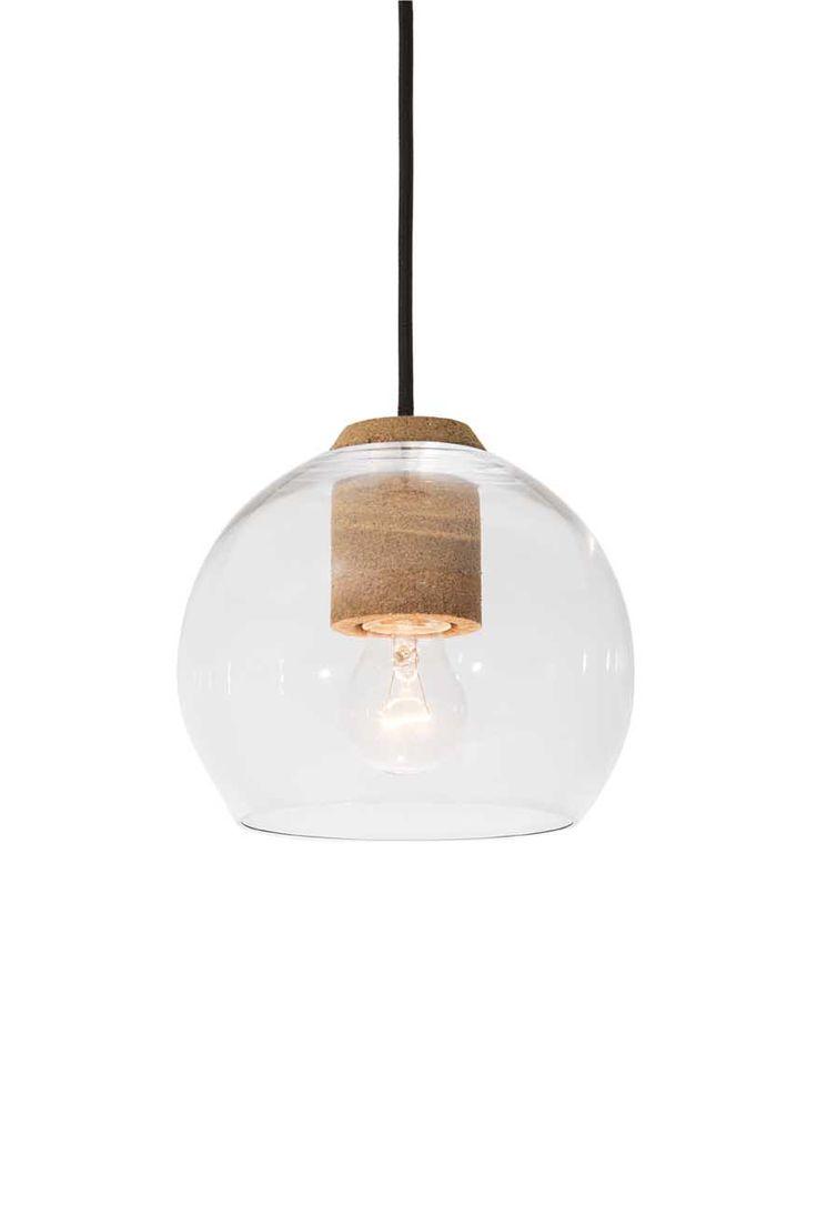 Luminária De Cortiça De Guto Requena Para A Bertolucci. CorkCorks