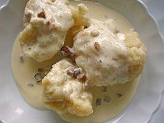 Rezept für Mehlklöße (lecker als Einlage für Hühnersuppe)