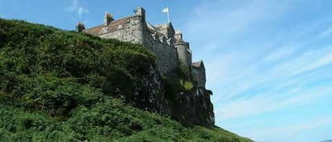Duart Castle, Mull, Scotland, Stronghold of the Clan MacLean.