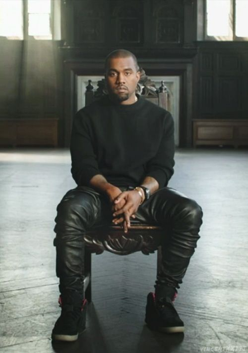 Kanye West. Continues to tread an ever blurred line between insanity and genius this week. #corporATIOns! #butNikeSaid... But still got love for dude❤️
