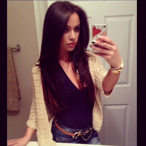 11 best carli bybel images on pinterest make up brown hair and i want to go back to super dark hair pmusecretfo Choice Image