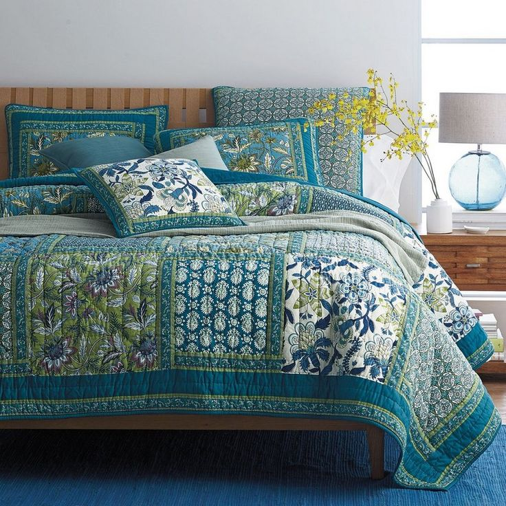Our bedding  Jocelyn Patchwork Quilt | The Company Store