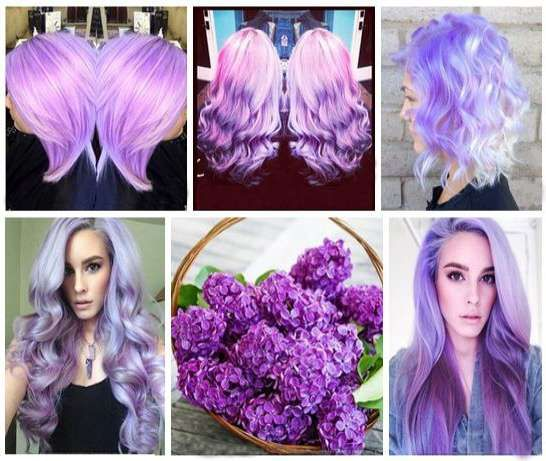 Leylak rengi saç modelleri ve fiyatları